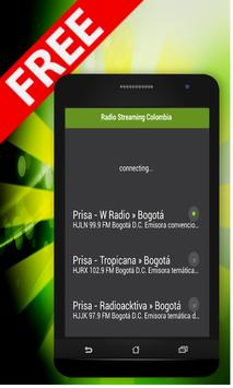 Radio Streaming Colombia poster