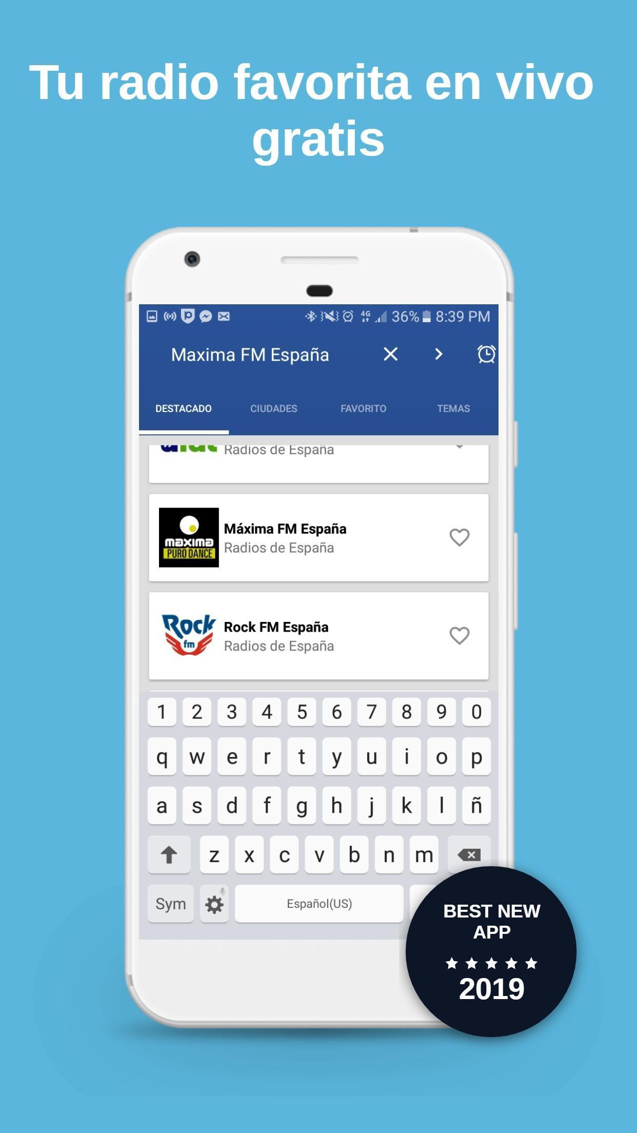 Radio España Maxima fm Dance Free for Android - APK Download