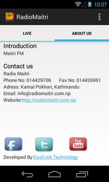 Radio Maitri 99.4 MHz screenshot 1