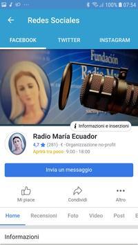 Radio Maria Ecuador screenshot 4