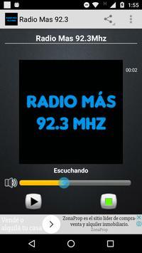 Radio Mas 92.3 poster
