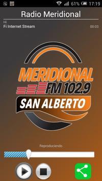 Radio Meridional 102.9 FM poster
