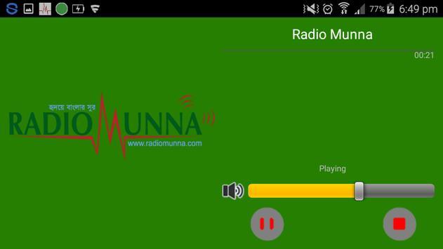 Radio Munna screenshot 2