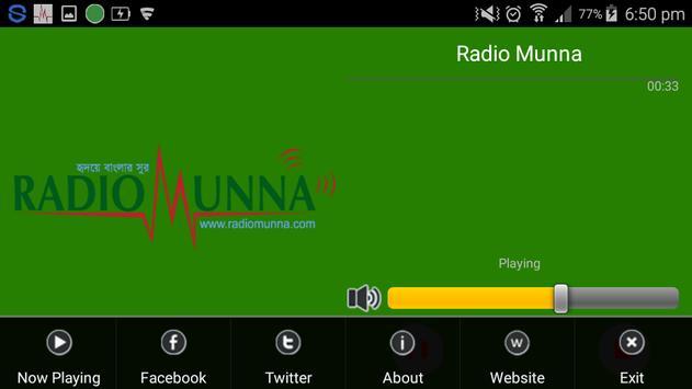 Radio Munna screenshot 3