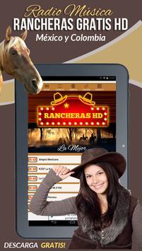 Rancheras Gratis HD Radio screenshot 5