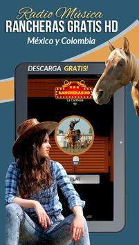 Rancheras Gratis HD Radio screenshot 8
