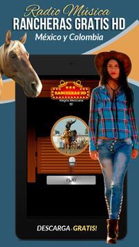 Rancheras Gratis HD Radio screenshot 11