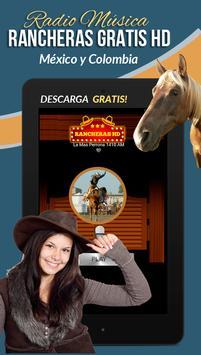 Rancheras Gratis HD Radio screenshot 14