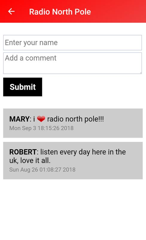 ... Radio North Pole - Christmas Songs and Carols screenshot 3 ...