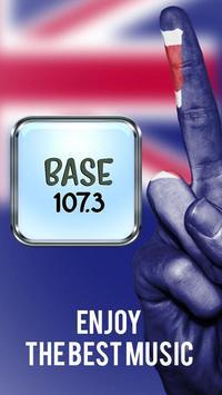 Base FM 107.3 Radio Station poster