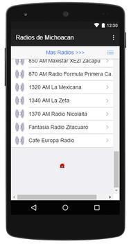 Radios de Michoacan apk screenshot