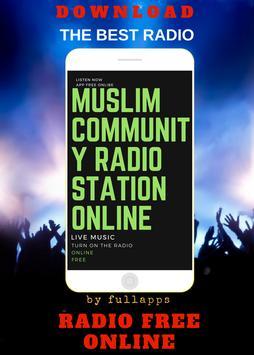 Muslim Community Radio ONLINE FREE APP RADIO poster