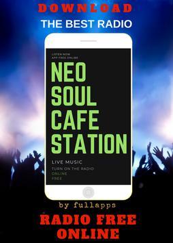 Neo Soul Cafe ONLINE FREE APP RADIO poster