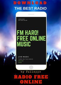 FM Haro! ONLINE FREE APP RADIO poster