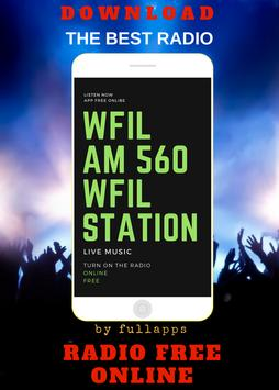 WFIL AM 560 - WFIL ONLINE FREE APP RADIO poster