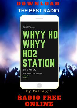WHYY HD - WHYY-HD2 ONLINE FREE APP RADIO poster