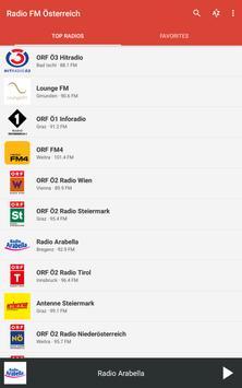 Radio FM Österreich (Austria) screenshot 8