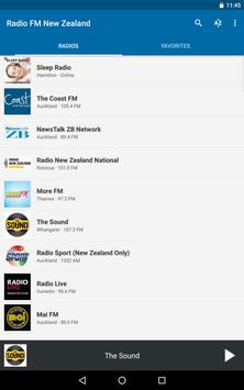 Radio FM New Zealand apk screenshot