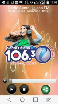 Rádio Santa Helena FM poster