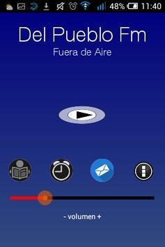 Del Pueblo Fm poster