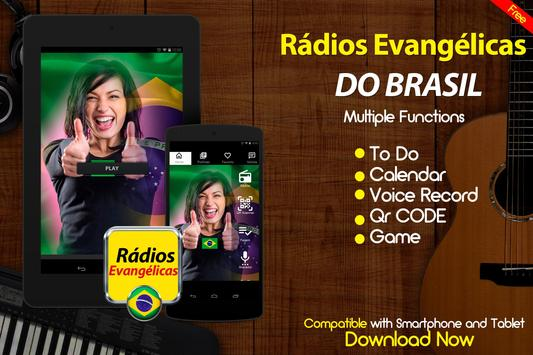 Rádios Evangélicas do Brasil Radio AM e FM Online screenshot 2