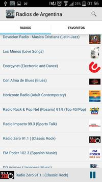 Radios de Argentina screenshot 1