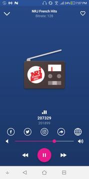 NRJ French Hits - Radios de Francia poster