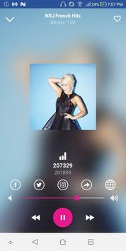 NRJ French Hits - Radios de Francia screenshot 1
