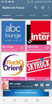 ABC Lounge - Les Radios FM de France screenshot 1