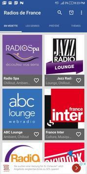 Radio Spa - Radios de France screenshot 1