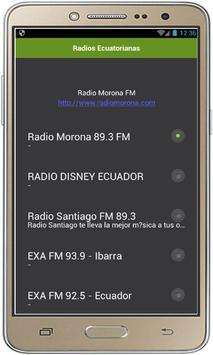 Radios Ecuatorianas poster