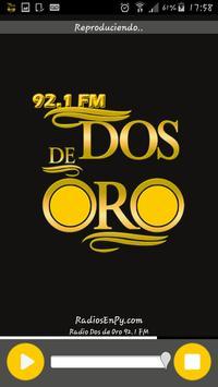 Radio Dos de Oro 92.1 FM apk screenshot