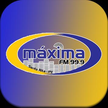 Radio Máxima FM 99.9 poster