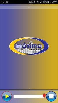 Radio Máxima FM 99.9 apk screenshot