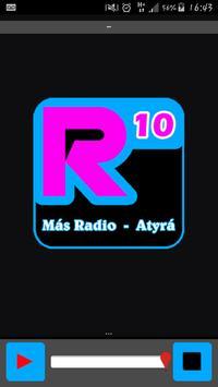 Radio 10 Atyrá poster