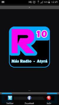 Radio 10 Atyrá apk screenshot