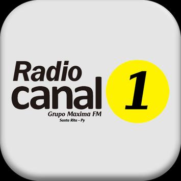 Radio Canal 1 PY poster