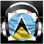 Saint Lucia Radio - Saint Lucia Caribbean Island icon