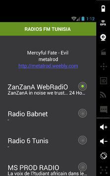 RADIOS FM TUNISIA screenshot 1