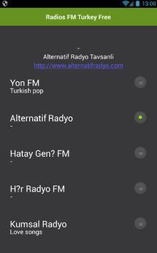 Radios FM Turkey Free poster