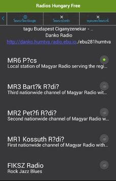 Radios Hungary Free screenshot 1
