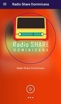 Radio Share Dominicana poster