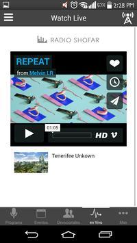 Radio Shofar apk screenshot
