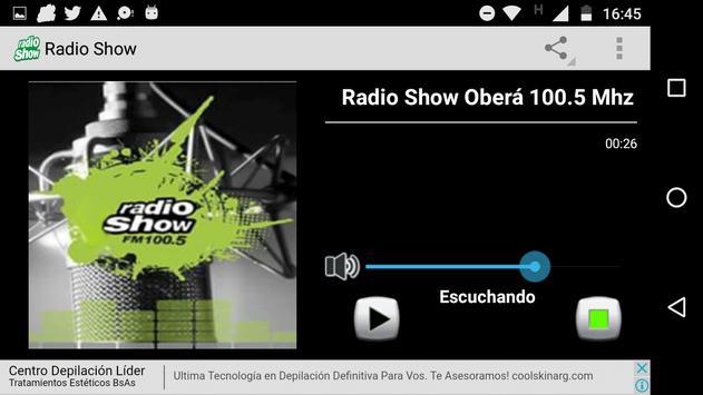 Radio Show screenshot 1
