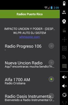 Radios Puerto Rico screenshot 1