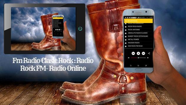 Fm Radio Clasic Rock : Radio Rock FM- Radio Online screenshot 4