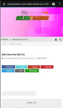 Radio Stereo Uno 102.9 Fm screenshot 3