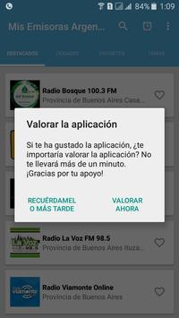 Mis Radios Argentinas Emisoras Argentinas en Vivo screenshot 2