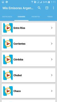 Mis Radios Argentinas Emisoras Argentinas en Vivo screenshot 4