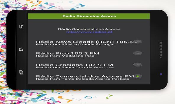 Radio Streaming Azores screenshot 1